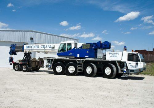 100 Ton Hydraulic All-Terrain Crane